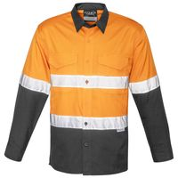 Mens Rugged Cooling Taped Hi Vis Spliced Shirt Thumbnail