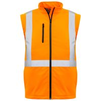 Unisex Hi Vis 2 in 1 X Back Soft Shell Jacket Thumbnail