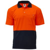 Unisex Hi Vis Polo - Short Sleeve Thumbnail